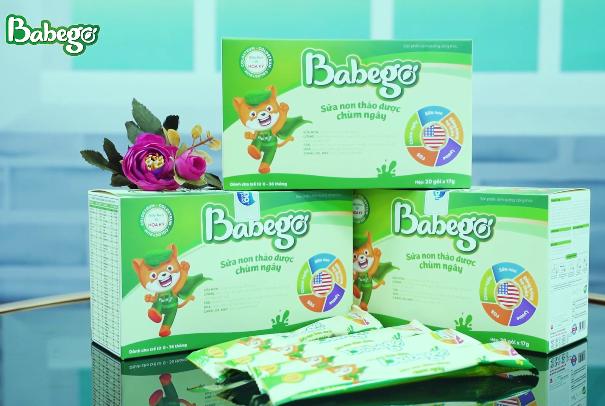 Sữa thảo dược chùm ngây Babego có tốt không giá bao nhiêu mua ở đâu