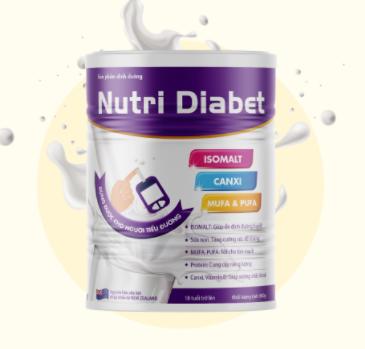 sữa tiểu đường nutri diabet