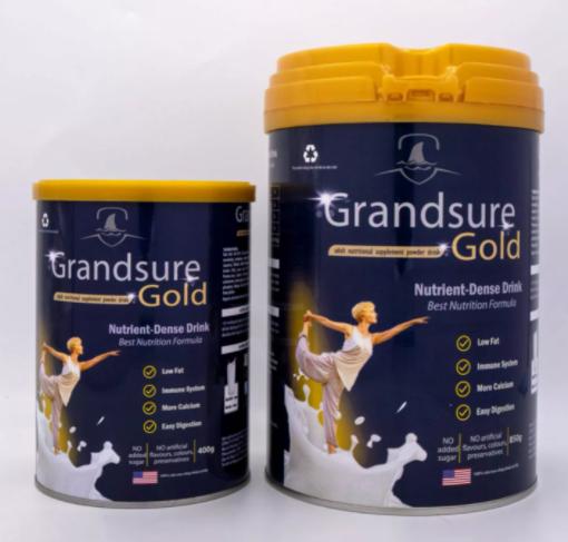 Sữa non xương khớp Grandsure Gold có tốt không giá bao nhiêu